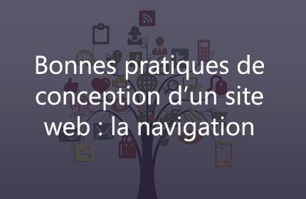 Bonnes pratiques de conception d'un site web: la navigation