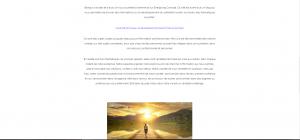 Page d'accueil Energising Concept - Mettre en valeur les textes
