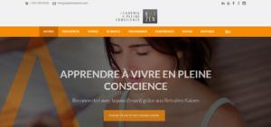 Exemple site web Académie Kaizen