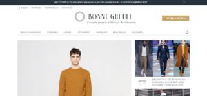 Exemple site web Bonne Gueule