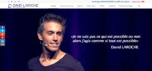 Exemple site web David Laroche