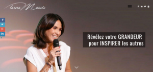 Exemple site web Laura Massis