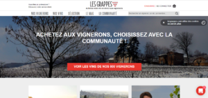 Exemple site web Les Grappes