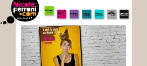 Exemple site web Nicole Ferroni