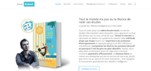 Exemple Site Web Olivier Roland