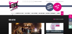 Exemple site web Restos du coeur